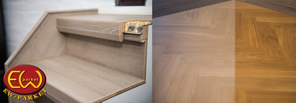 Ew parket exclusieve houten vloeren parketvloeren for Houten trap behandelen