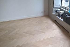 Eikenhouten Vloer Leggen : Visgraat houten vloer prijs